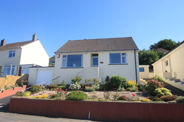 Thumbnail Detached bungalow for sale in Hillside Road, Saltash