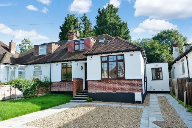 Thumbnail Semi-detached bungalow to rent in Hillside Road, Northwood, Middlesex