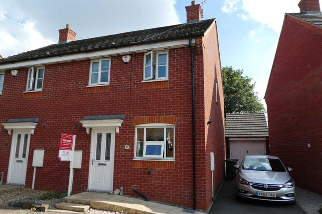 Thumbnail Semi-detached house to rent in Woodleigh Road, Long Lawford, Rugby