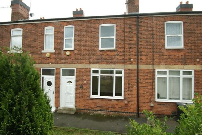Thumbnail Terraced house to rent in Station Road, Shirebrook, Mansfield