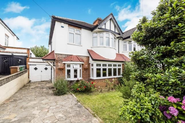 Thumbnail Semi-detached house for sale in Church Avenue, London
