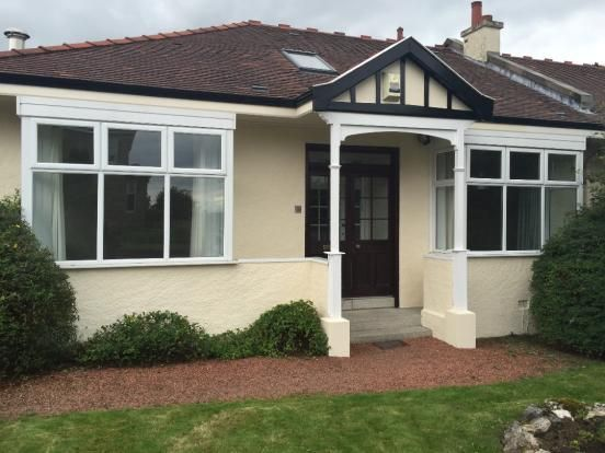 Thumbnail Semi-detached bungalow to rent in Jordanhill Drive, Glasgow