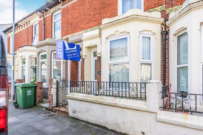 Thumbnail Terraced house to rent in Jervis Road, Portsmouth