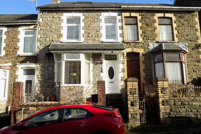 Thumbnail Terraced house for sale in Evelyn Street, Abertillery, Gwent