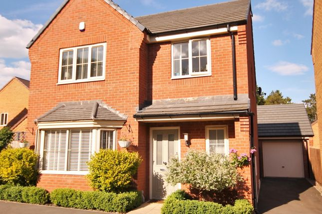 Thumbnail Detached house for sale in Convent Drive, Stoke Golding, Nuneaton