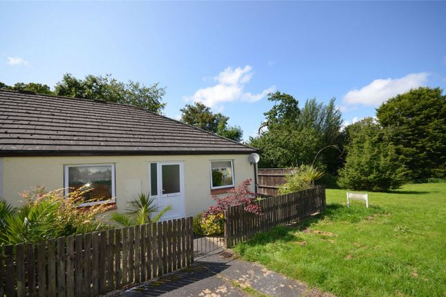 Thumbnail Terraced bungalow for sale in St Clement Parc, Truro, Cornwall