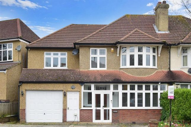 Thumbnail Semi-detached house for sale in West Way, Shirley, Croydon, Surrey
