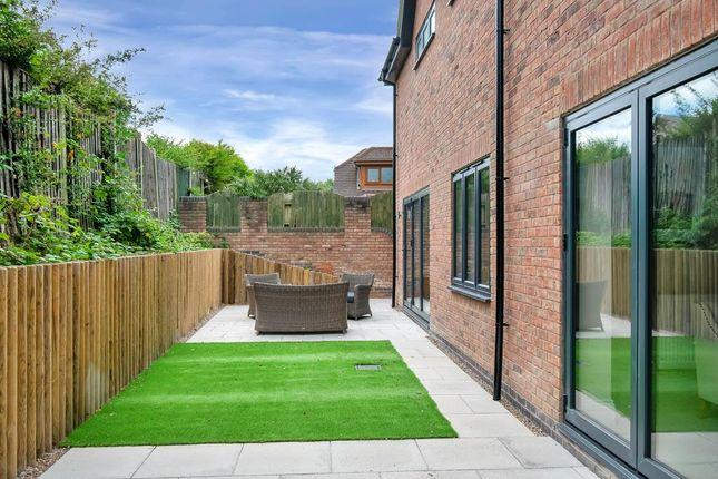 Rear Garden of Quarndon Heights, Allestree, Derby DE22