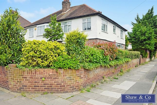 Thumbnail Semi-detached house for sale in Central Avenue, Hounslow