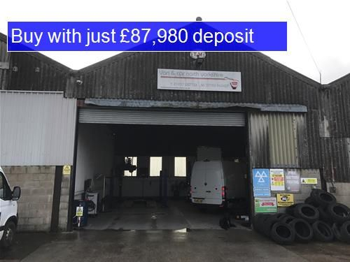 Thumbnail Commercial property for sale in LS24, Church Fenton, North Yorkshire