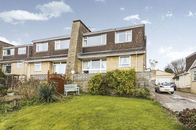 Thumbnail Semi-detached house for sale in Cedarhurst Road, Portishead, Bristol