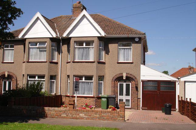 Semi-detached house in  Dunkeld Avenue  Filton Park  Bristol B City Of Bristol