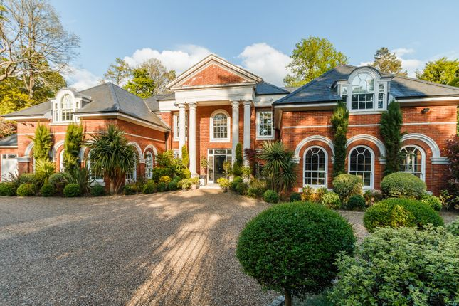 Thumbnail Detached house for sale in Woodlands Road West, Virginia Water, Surrey