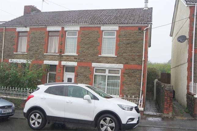 Semi-detached house for sale in Cemetery Road, Maesteg, Mid Glamorgan