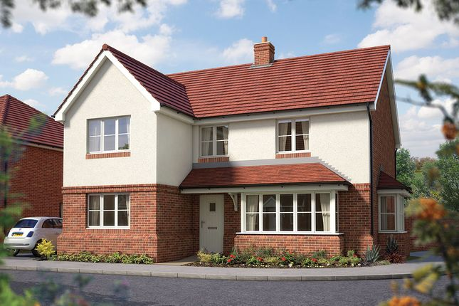 "Thumbnail Detached house for sale in ""The Chester"" at Matthewsgreen Road, Wokingham"