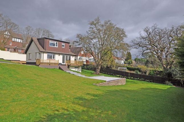 Thumbnail Detached house for sale in Large Bungalow & Plot, Risca Road, Newport