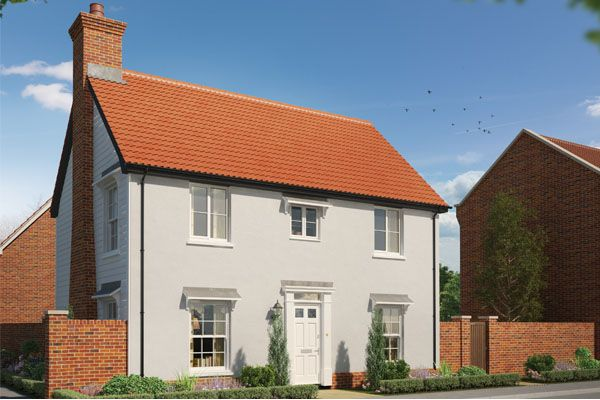 Thumbnail Detached house for sale in Station Road, Framlingham, Suffolk