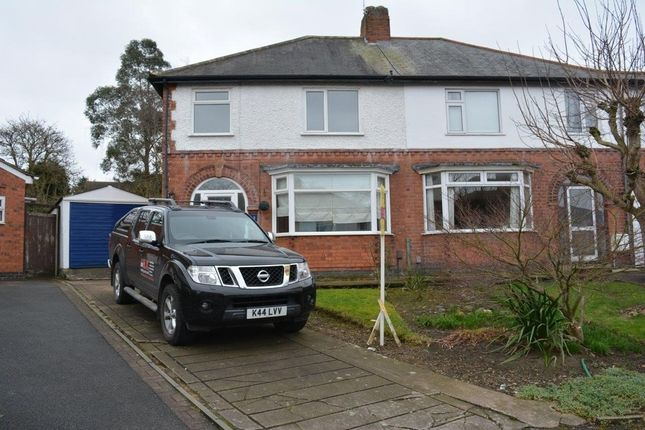 Thumbnail Semi-detached house to rent in Greenland Avenue, Leicester