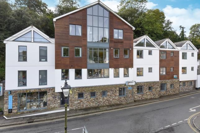 Thumbnail Flat for sale in Station Road, Fowey, Cornwall