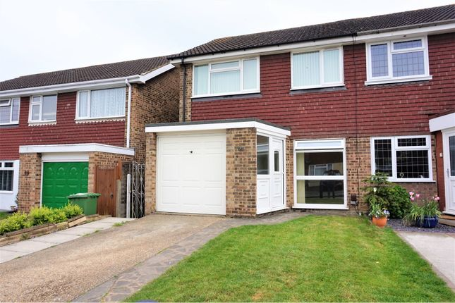 Thumbnail Semi-detached house for sale in Monterey Close, Bexley