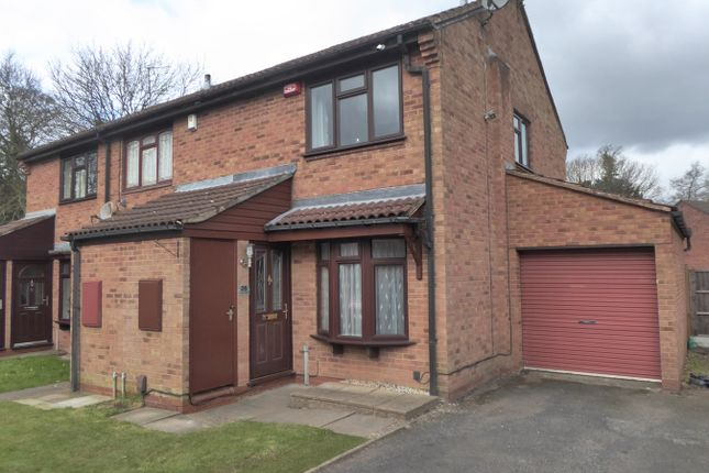 Thumbnail End terrace house for sale in Newey Close, Rednal, Birmingham