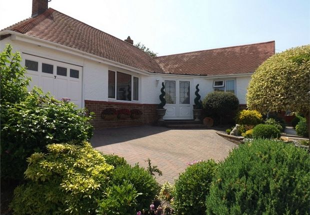 Thumbnail Detached bungalow for sale in 7 Second Avenue, Bexhill-On-Sea, East Sussex