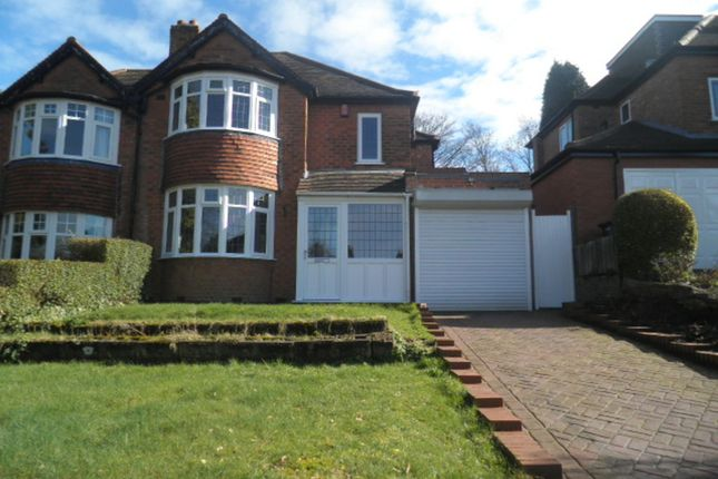 Thumbnail Semi-detached house to rent in Darnick Road, Boldmere, Sutton Coldfield