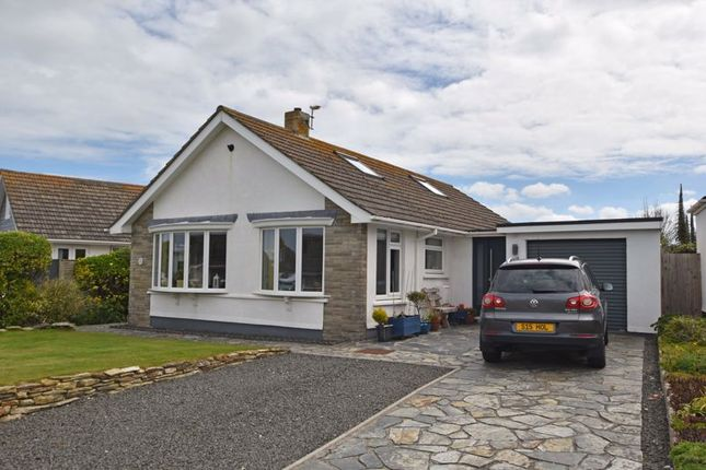 Thumbnail Detached bungalow for sale in Arundel Way, Newquay