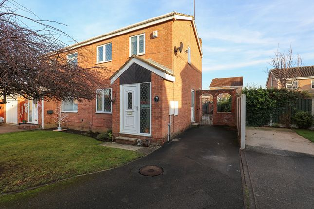 Thumbnail Semi-detached house for sale in Milburn Court, Sothall, Sheffield