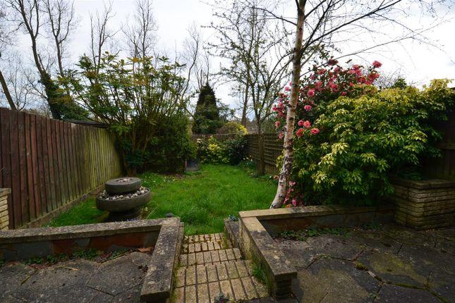 Garden of Poole Crescent, Harborne, Birmingham B17