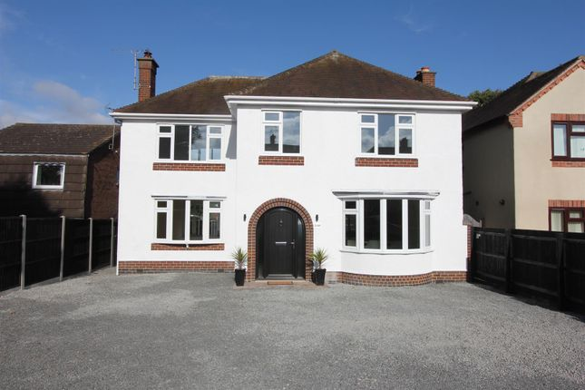 Thumbnail Detached house for sale in Heath Lane, Earl Shilton, Leicester