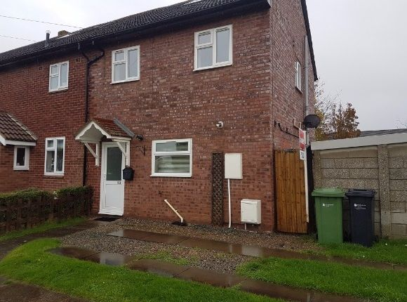 Thumbnail End terrace house to rent in Trenchard Avenue, Credenhill, Hereford