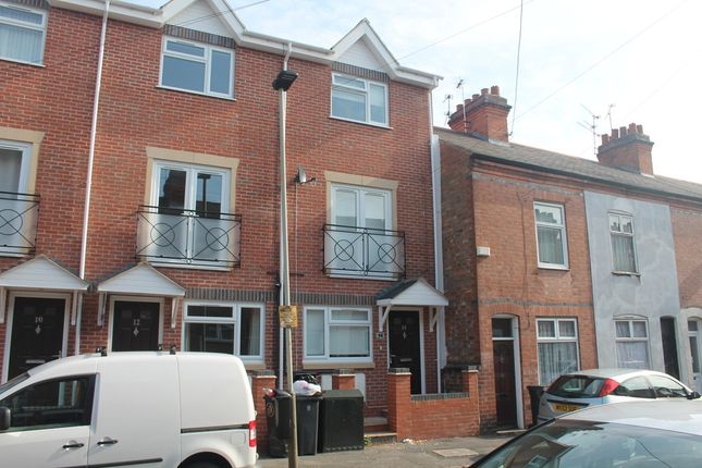 Thumbnail Town house to rent in Clifton Road, Aylestone, Leicester