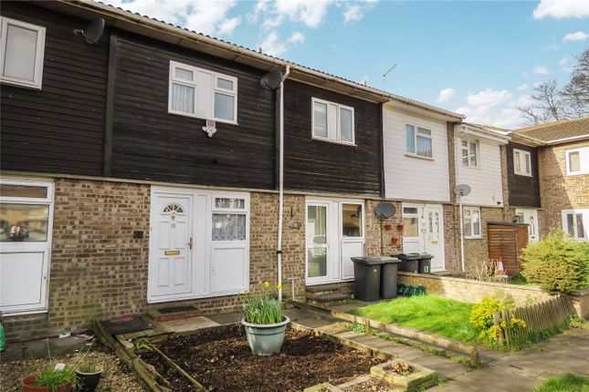 Thumbnail Terraced house for sale in Poplar Close, Sandy, Bedfordshire