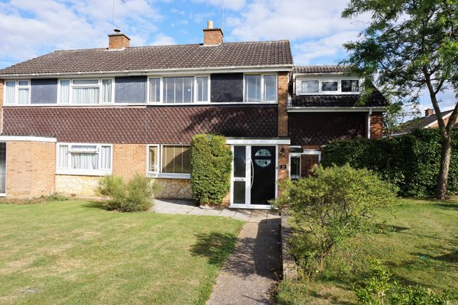 Thumbnail Semi-detached house for sale in Boughton Drive, Rushden