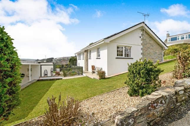 Thumbnail Bungalow for sale in Mellanvrane, Newquay, Cornwall