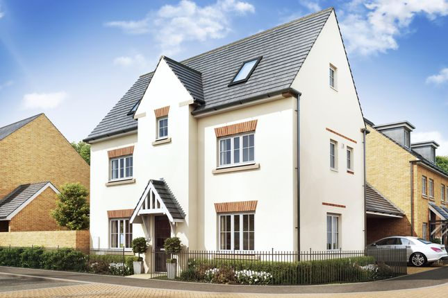"Thumbnail Semi-detached house for sale in ""Hexham"" at Stubby Lane, Cheddon Fitzpaine, Taunton"
