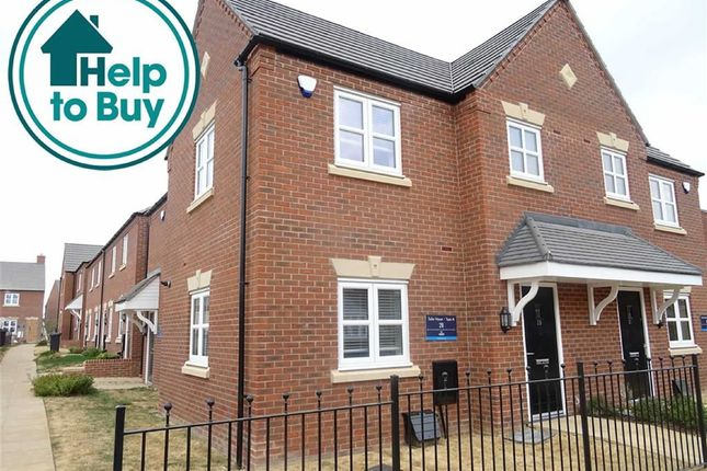 Thumbnail Mews house for sale in Hinckley Road, Stoke Golding, Nuneaton