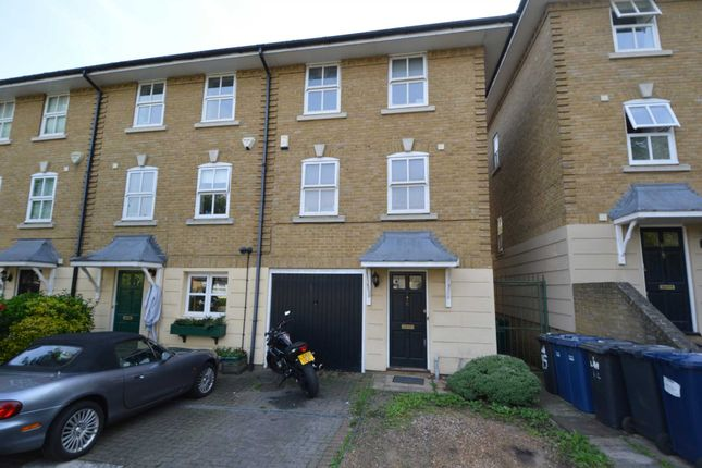 Thumbnail End terrace house for sale in Hampton Close, London