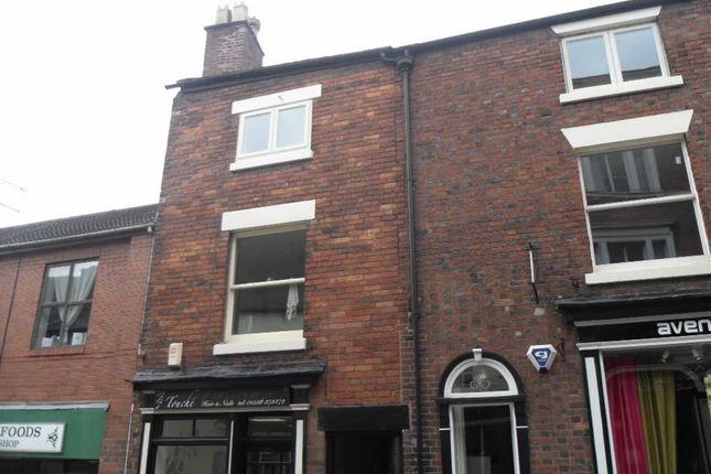 Thumbnail Flat to rent in 12A Stanley Street, Leek, Leek