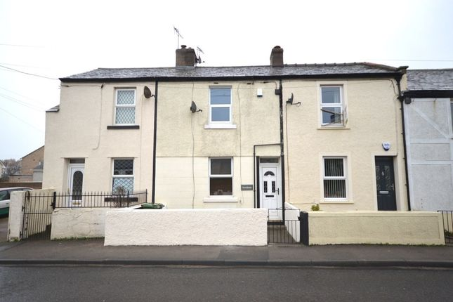 Thumbnail Terraced house to rent in Main Road, High Harrington, Workington