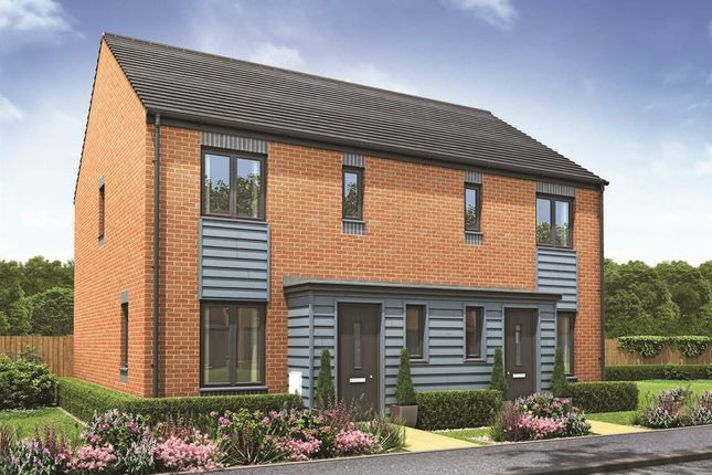 """Thumbnail Semi-detached house for sale in """"The Hanbury"""" at Lawley Drive, Lawley, Telford"""