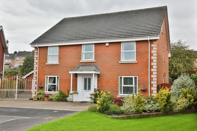 Thumbnail Detached house for sale in Brentwood Place, Ebbw Vale