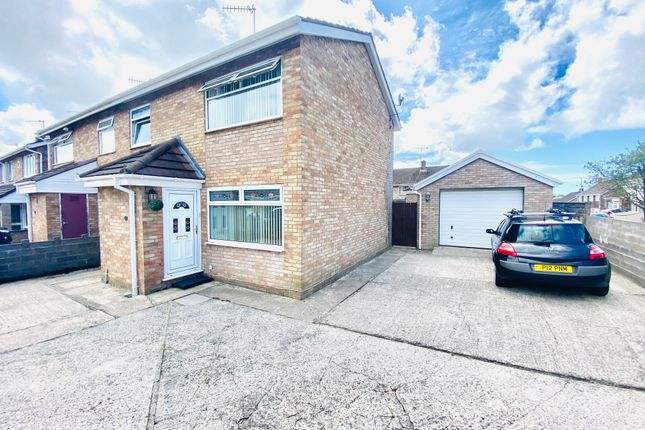 Thumbnail Semi-detached house for sale in Brynheulog, Llanelli