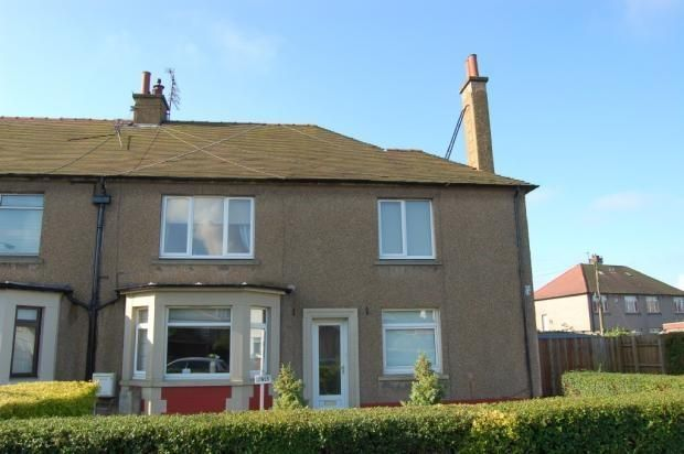 Thumbnail Flat to rent in Crichton Drive, Grangemouth