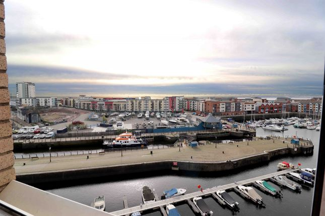 Thumbnail Flat for sale in Pocketts Wharf, Swansea