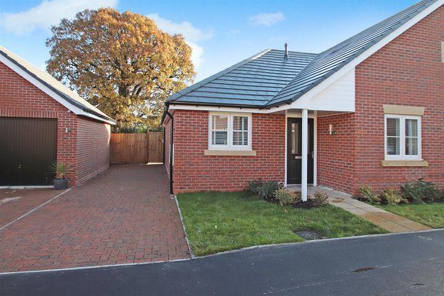 Thumbnail Semi-detached bungalow for sale in Gateway Avenue, Baldwins Gate, Newcastle
