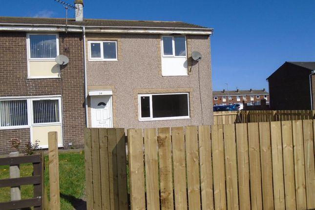 Thumbnail Terraced house to rent in Ridgeway, Ashington