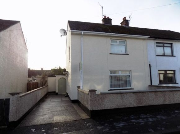 Thumbnail End terrace house to rent in Ashlea Place, Lisburn