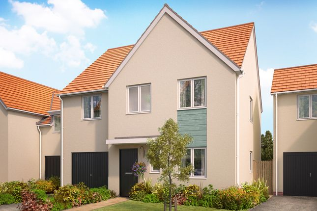 "Thumbnail Semi-detached house for sale in ""The Blackmore"" at Primrose, Weston Lane, Totnes"